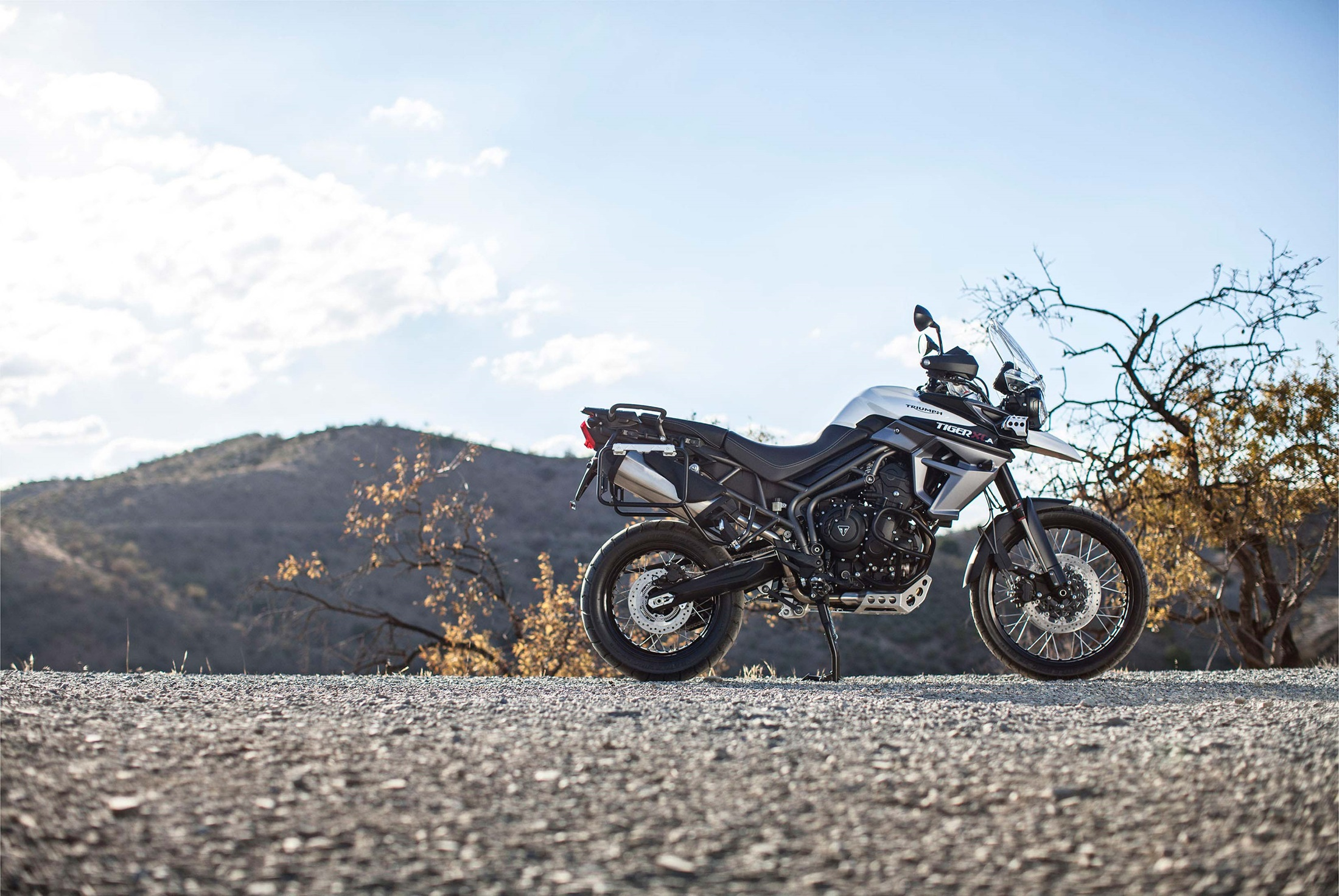 2017 Triumph Tiger 800 XCA in Brea, California