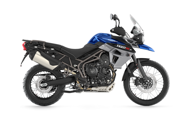 2017 Triumph Tiger 800 XCx in Stuart, Florida