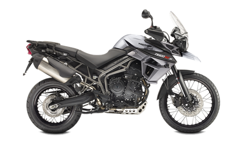 2017 Triumph Tiger 800 XCx in Brea, California