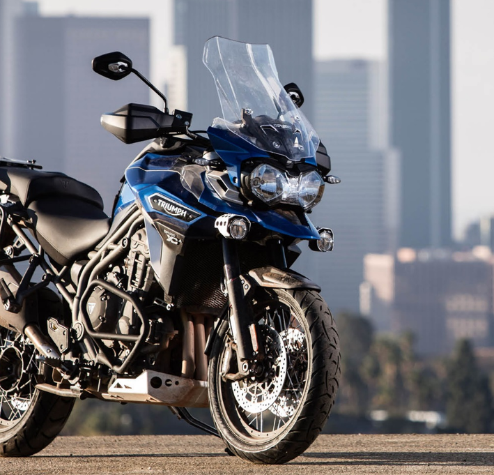 2017 Triumph Tiger Explorer XCx in San Bernardino, California