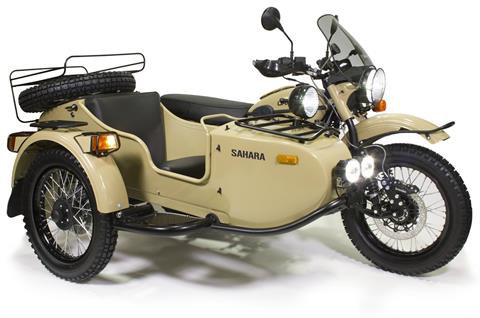 2017 Ural Motorcycles Gear Up Sahara in Indianapolis, Indiana