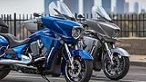2017 Victory Cross Country Tour in Brea, California