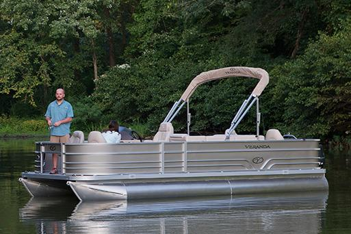 2016 Veranda Fishing V2075-F4 in Bryant, Arkansas