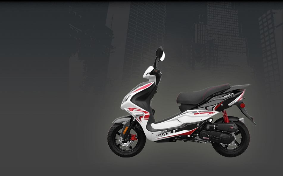 2015 Wolf Brand Scooters Wolf Blaze II in New Haven, Connecticut