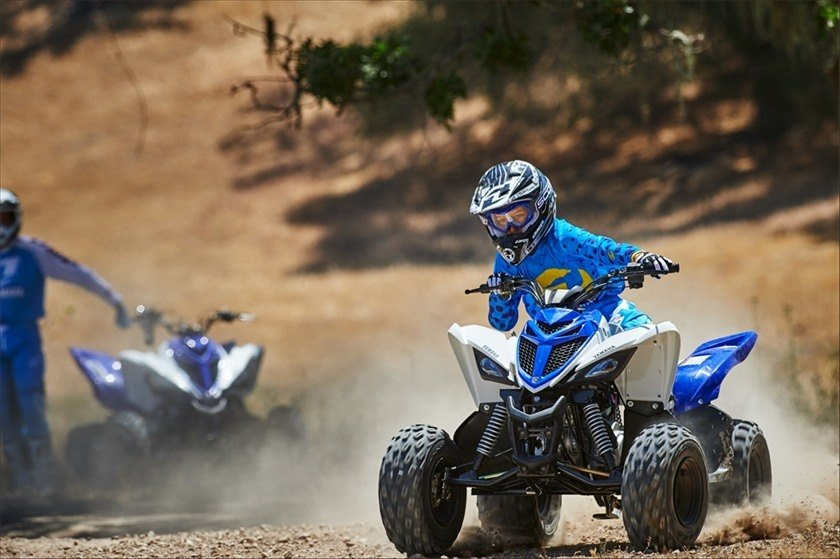 2016 Yamaha Raptor 90 in Burleson, Texas