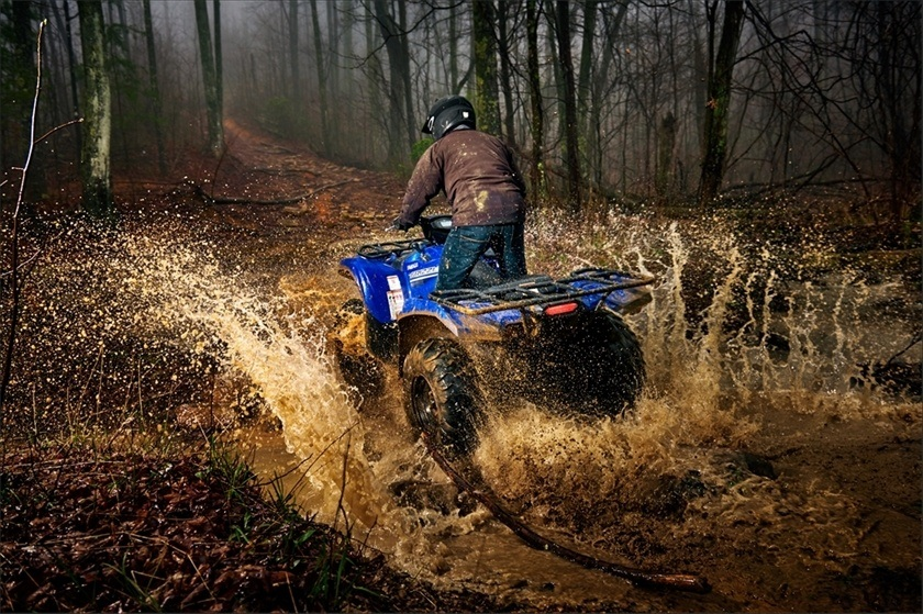 2016 Yamaha Grizzly EPS in Bristol, Virginia