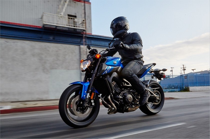 2016 Yamaha FZ-09 in Berkeley, California