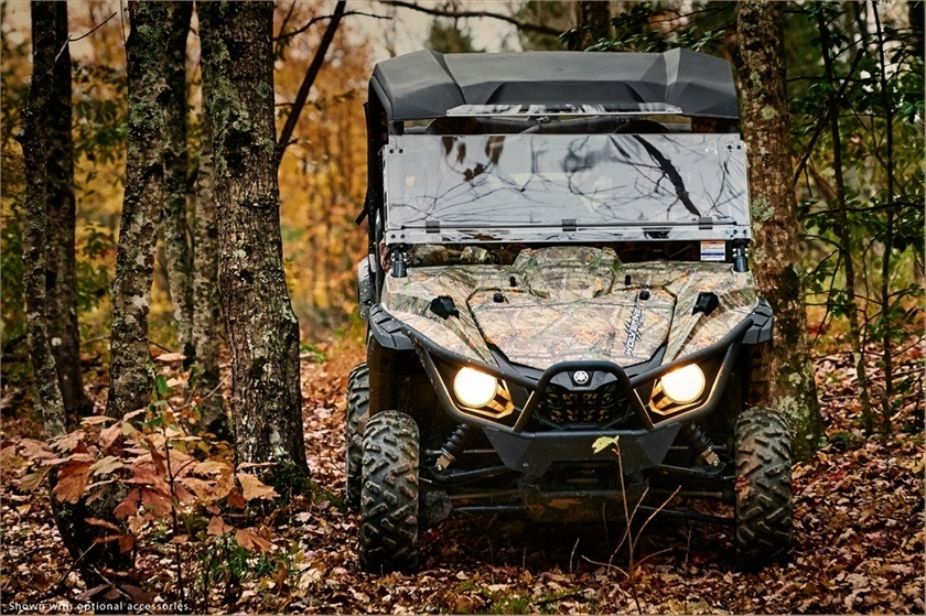 2016 Yamaha Wolverine R-Spec EPS Hunter in Chesterfield, Missouri