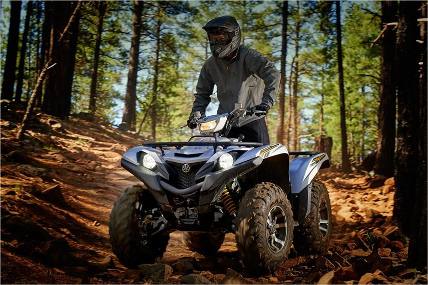 2017 Yamaha Grizzly EPS SE in New Haven, Connecticut