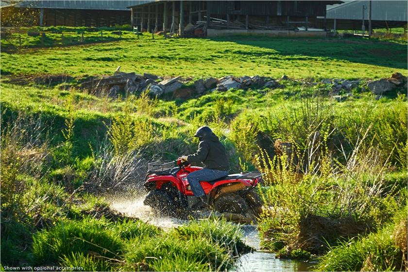 2017 Yamaha Kodiak 700 EPS in Marietta, Ohio