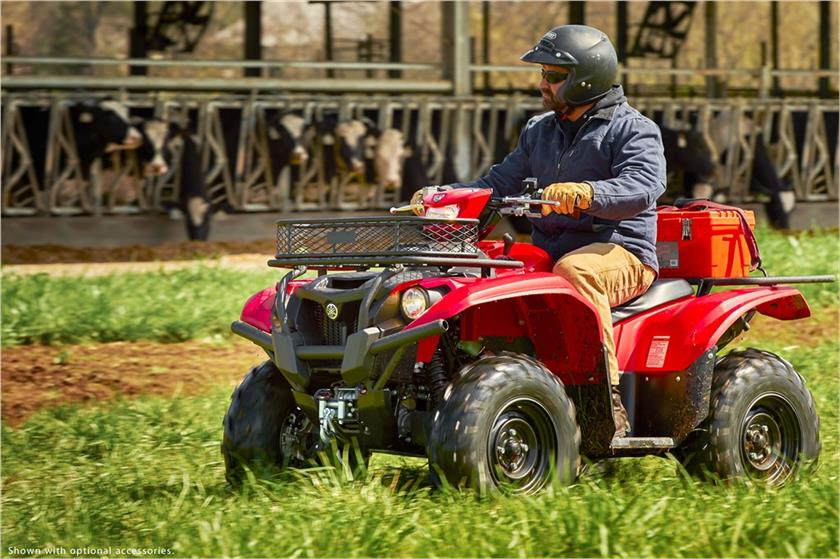 2017 Yamaha Kodiak 700 EPS in Mount Vernon, Ohio