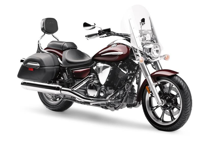 2017 Yamaha V Star 950 Tourer in Fairfield, Illinois