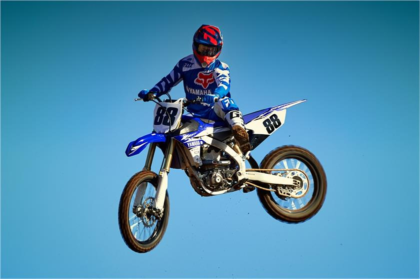 2017 Yamaha YZ450F in Manheim, Pennsylvania