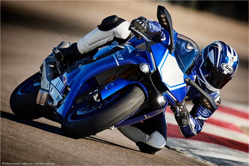 2017 Yamaha YZF-R1 in Middletown, New Jersey