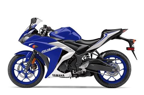 2017 Yamaha YZF-R3 in Phillipston, Massachusetts