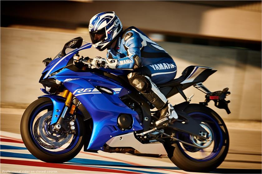 2017 Yamaha YZF-R6 in Murrieta, California