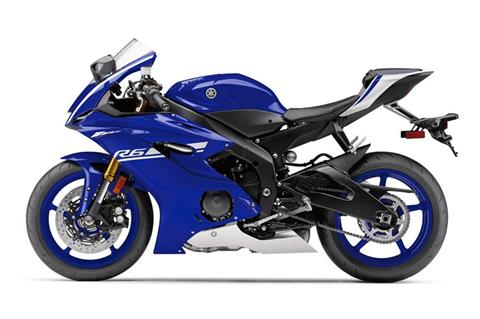 2017 Yamaha YZF-R6 in Phillipston, Massachusetts