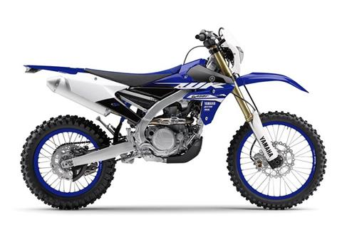 2018 Yamaha WR450F in Hendersonville, North Carolina
