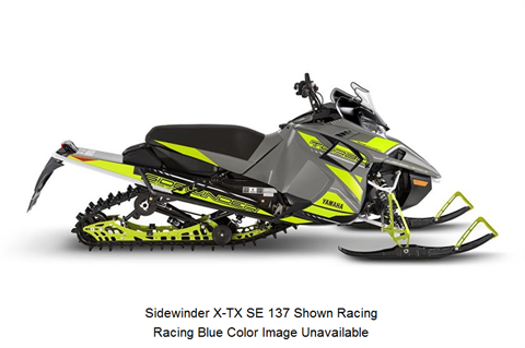 2018 Yamaha Sidewinder X-TX SE 141 in Johnstown, Pennsylvania