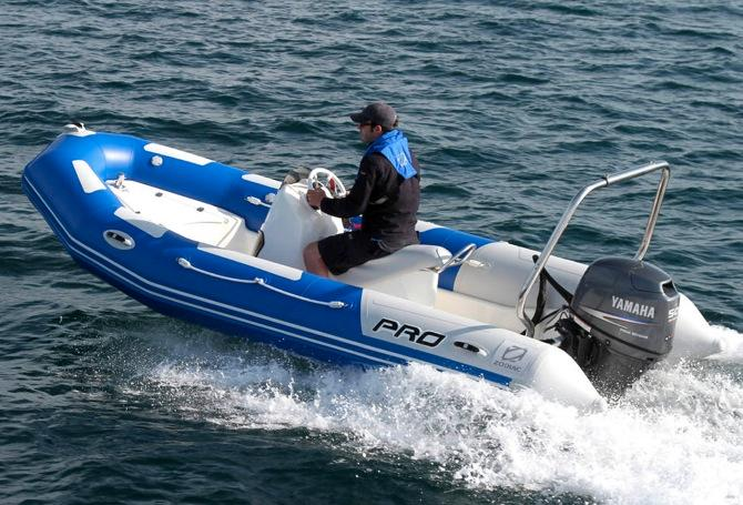 2016 Zodiac Pro Touring 500 in Stuart, Florida