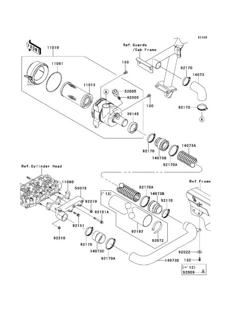 Kawasaki Mule 4010 Parts Diagram