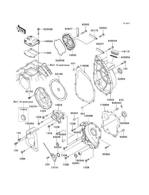 Kawasaki Motorcycle Engine Diagrams