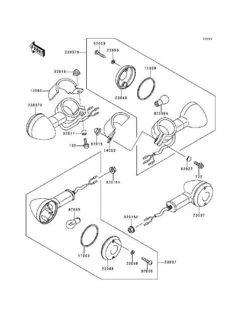 Parts Finder 1998 Kawasaki Motorcycles