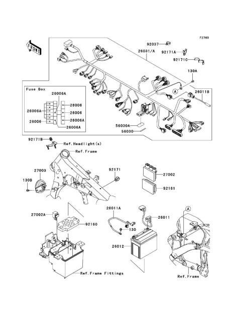 Parts Finder 2009 Kawasaki Motorcycles