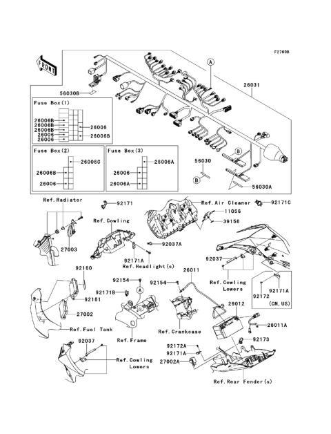 Vickery Motorsports Parts Look Up