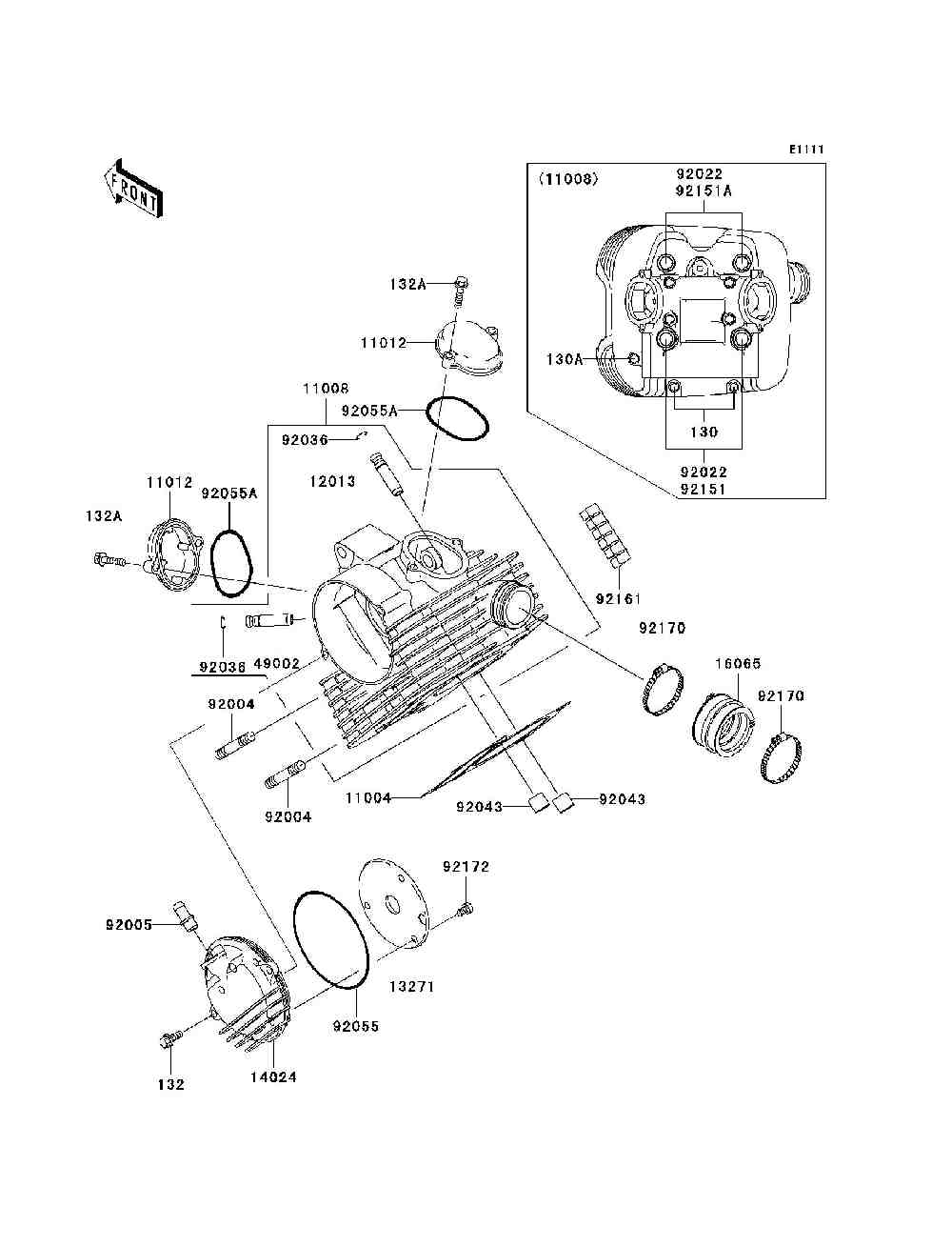Kawasaki Prairie 360 Parts Diagram Trusted Schematics 2008 650i Fuse Box 2009 Carburetor Electrical Wiring Diagrams Fiche 650