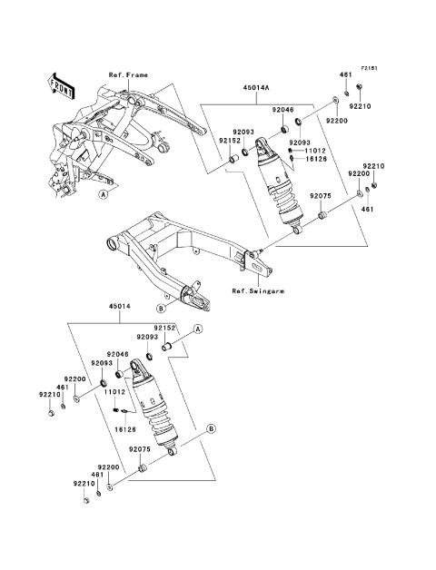 Kawasaki Vulcan Break Light Schematics