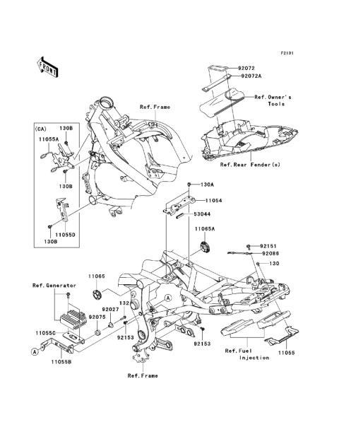 Kawasaki Lawn Mower Engine Parts