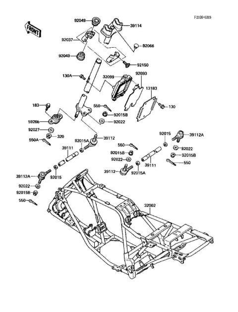 Parts Finder 1990 Kawasaki Atvs
