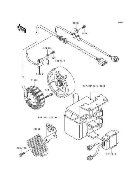 Genuine Honda Cbr1000f 1989 Speedometer Joint Part 17 44808mr7013