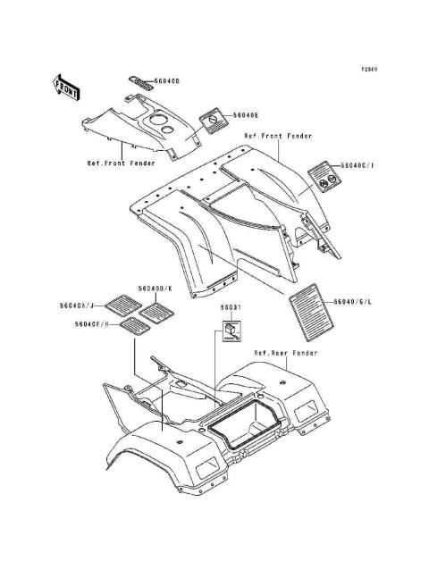 Honda Trx 300 Parts Diagram