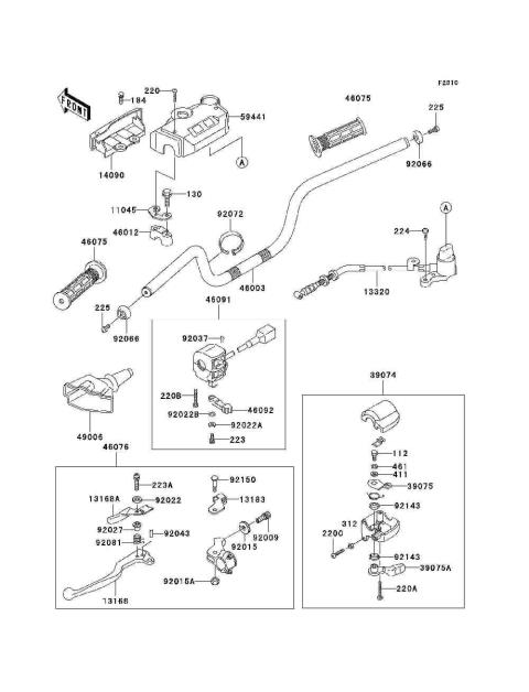 Parts Finder 1998 Kawasaki Atvs