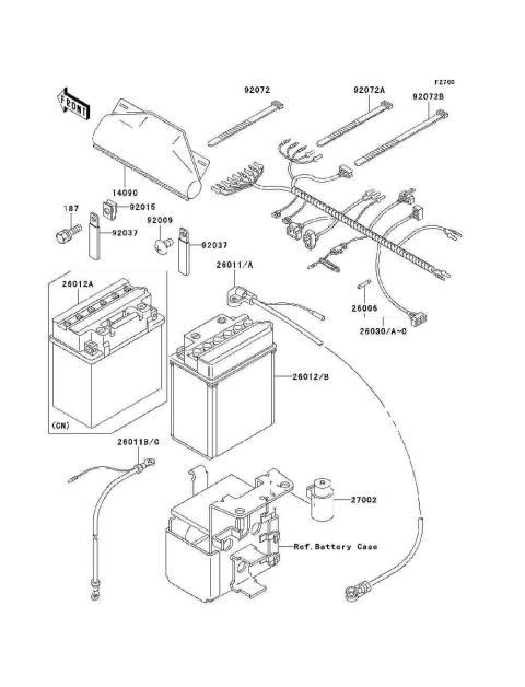 Parts Finder 2001 Kawasaki Atvs