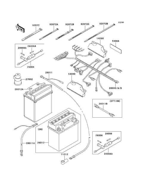 Parts Finder 2000 Kawasaki Atvs