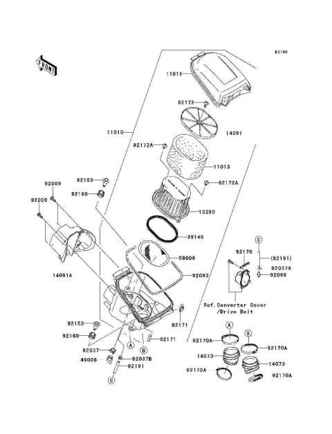 Yamaha Atv Body Parts