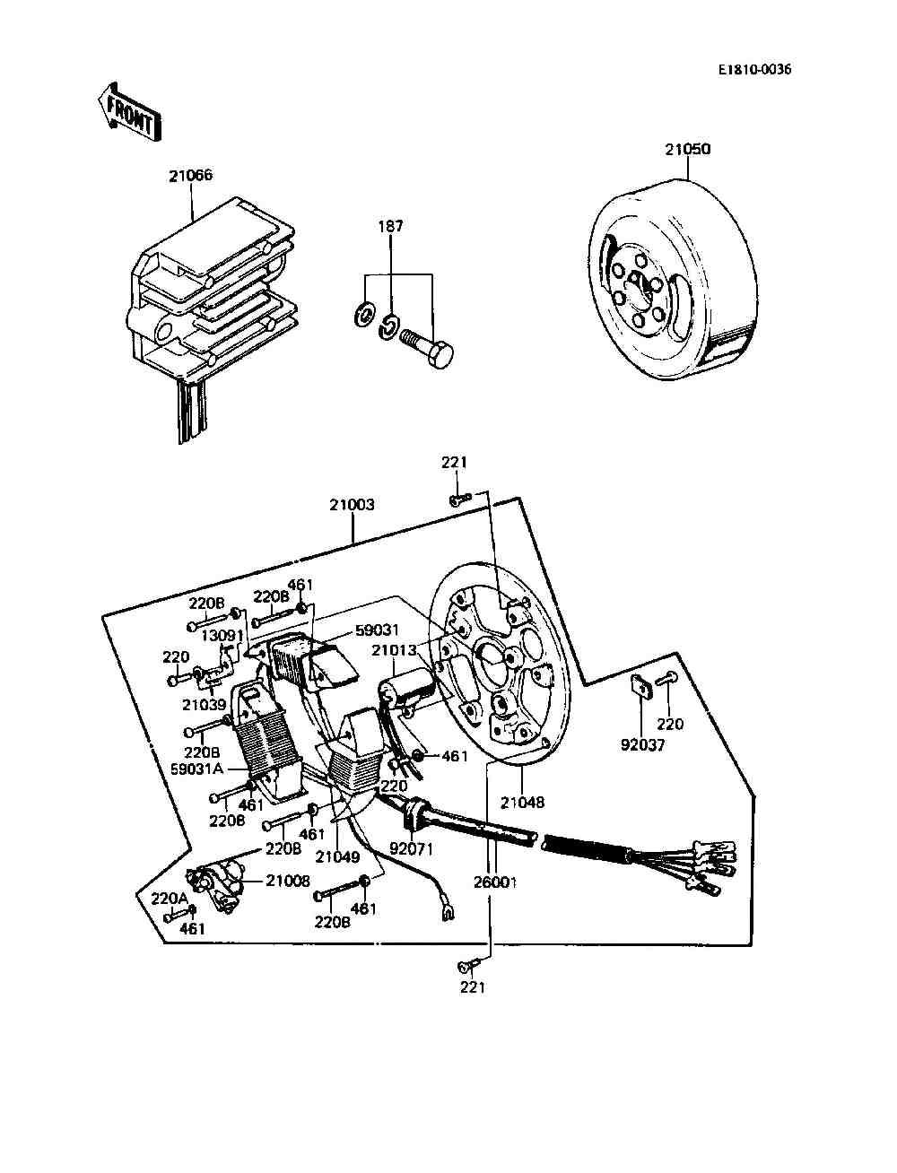 Ke100 Wiring Diagram 1989 Simple Parts Finder Kawasaki Motorcycles J Motors Massillon Oh Kz400