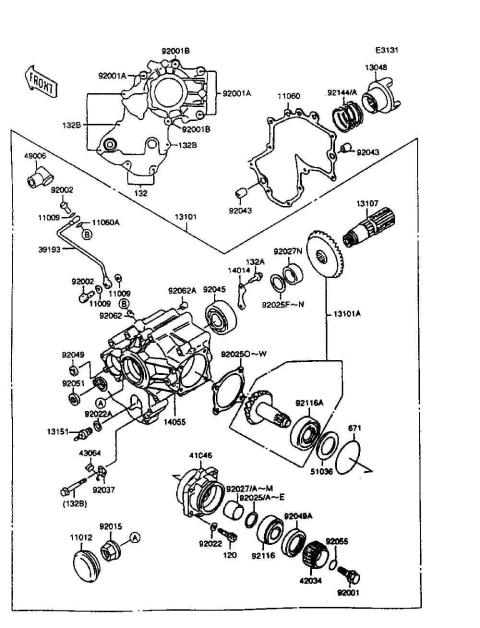 Parts Finder 1997 Kawasaki Motorcycles