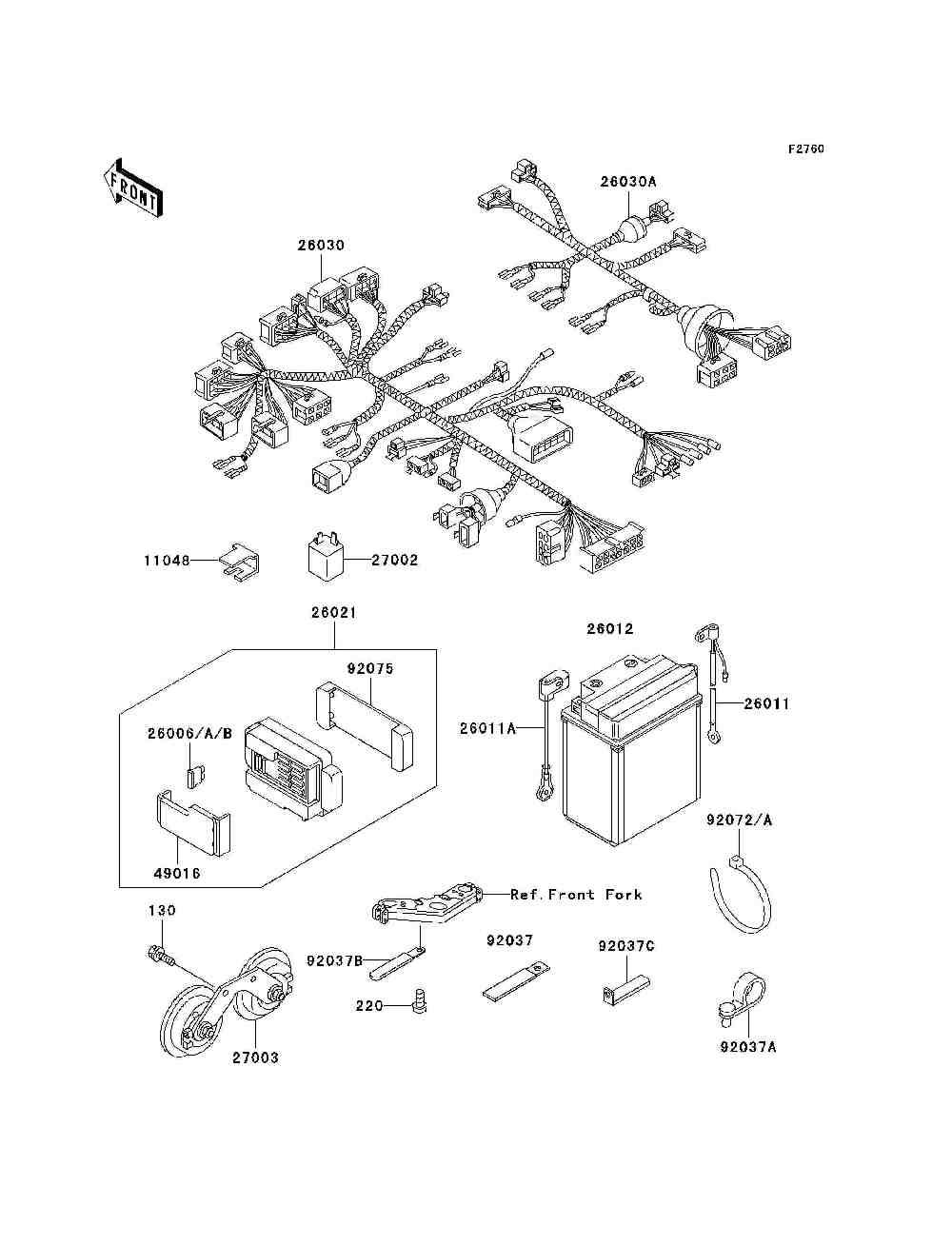Parts Finder 2006 Kawasaki Motorcycles Vanderzee Motorplex In Zg1000 Wiring Diagram South Haven Mi