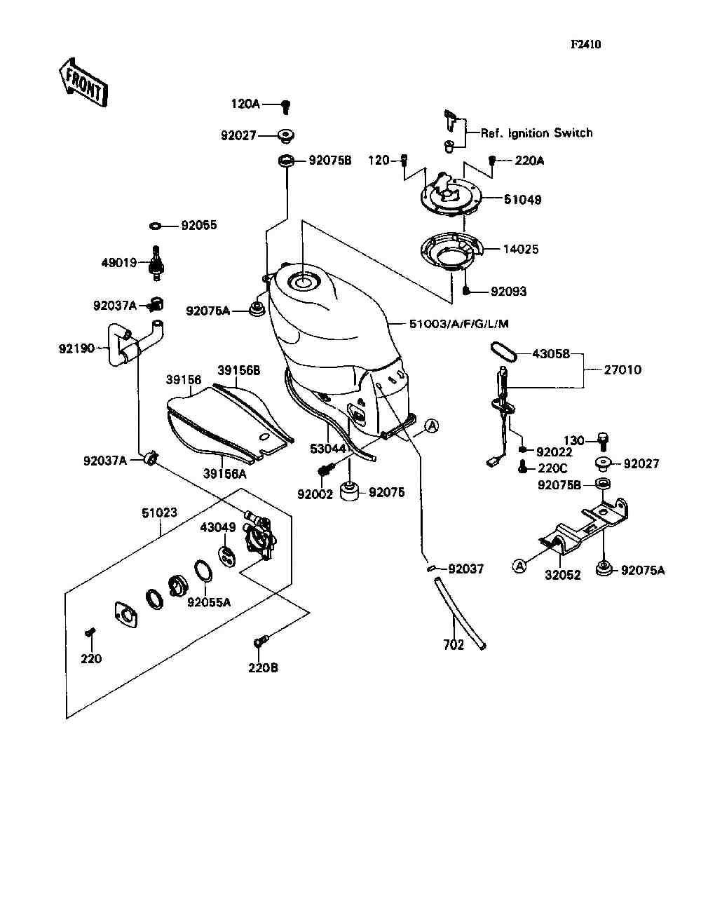 Honda Xr 185 Wiring Diagram Page 2 And Schematics Kawasaki Parts Finder 1992 Motorcycles Vanderzee Motorplex In South Haven Mi