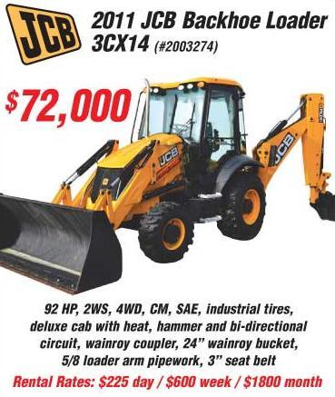 2011 JCB 3CX 14 in Norfolk, Virginia - Photo 1
