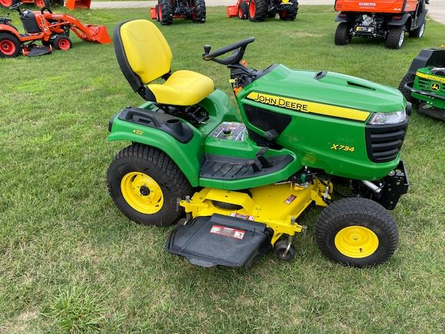 2015 John Deere X734 in Beaver Dam, Wisconsin - Photo 1