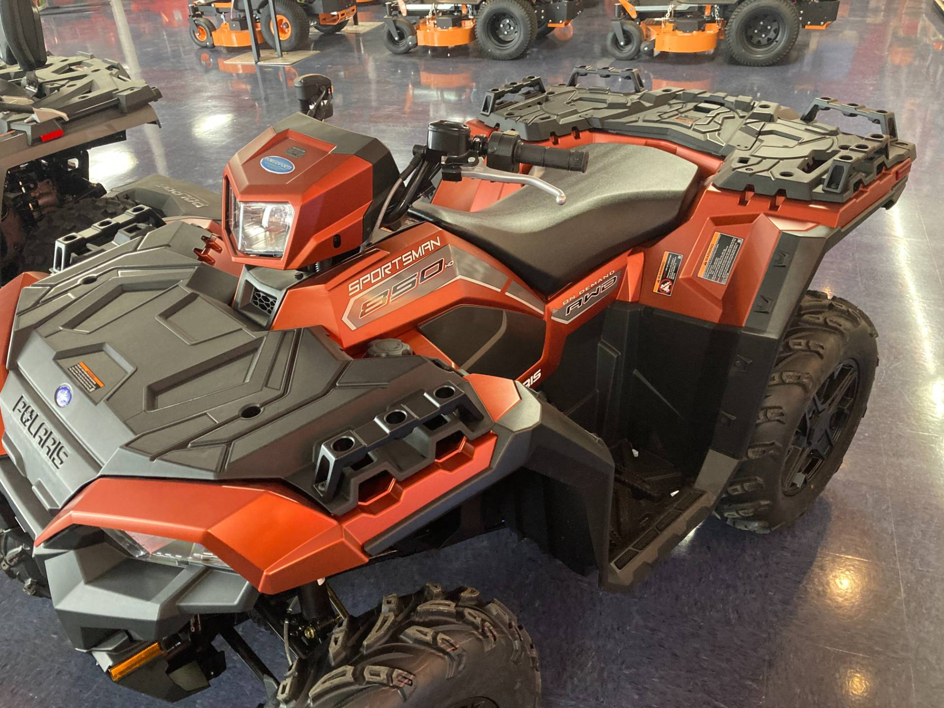2021 Polaris Sportsman 850 Premium in Beaver Dam, Wisconsin - Photo 3