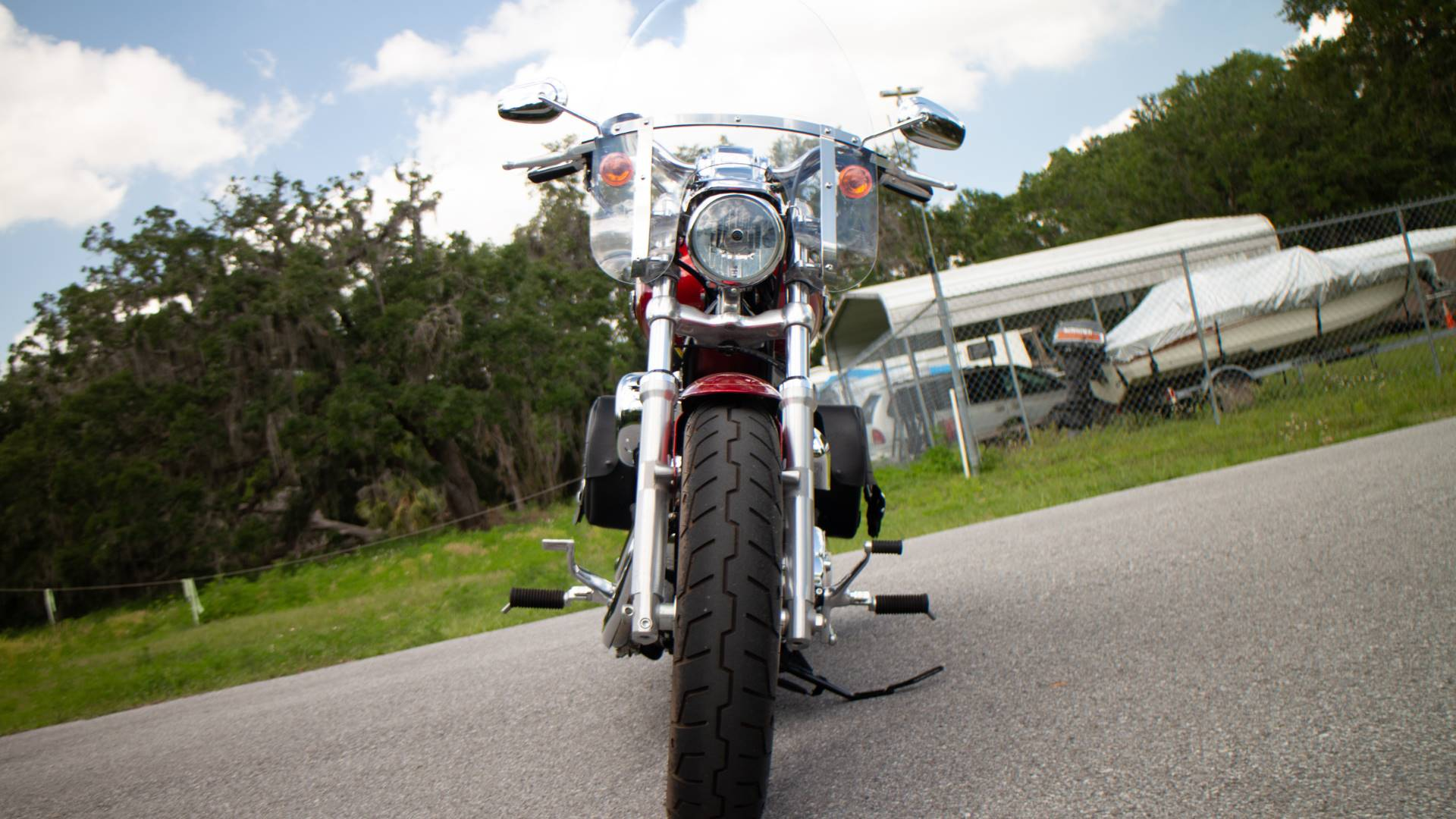 2013 Harley-Davidson XL1200CP in Lakeland, Florida - Photo 4