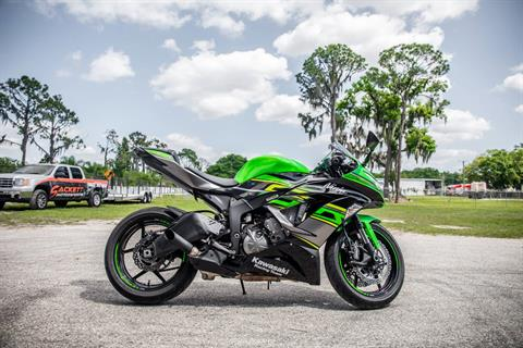 2018 Kawasaki Ninja ZX-6R ABS KRT EDITION in Lakeland, Florida
