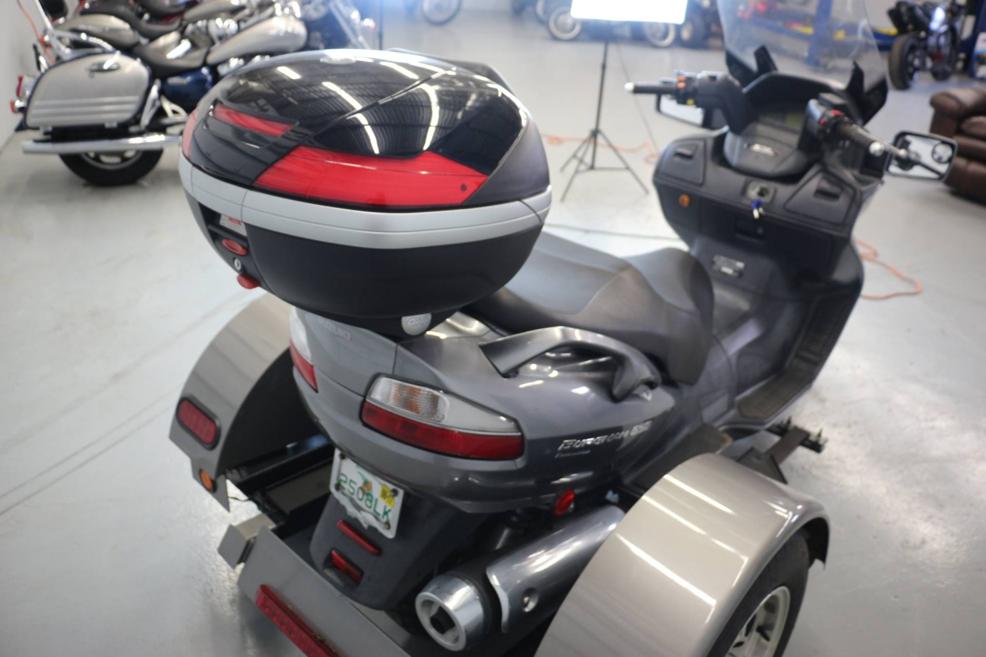 used 2008 suzuki burgman 650 exec scooters in lakeland. Black Bedroom Furniture Sets. Home Design Ideas