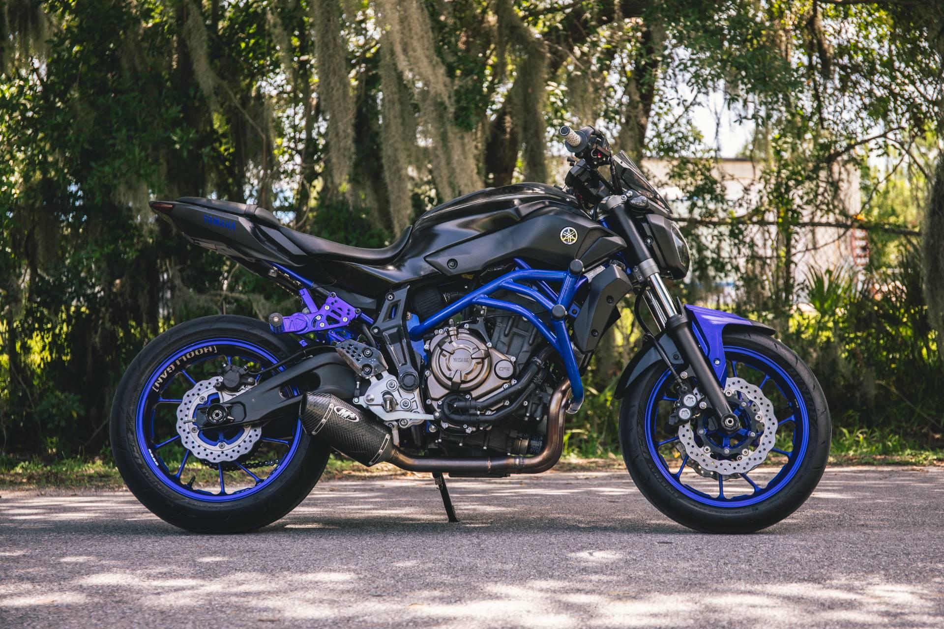 2016 Yamaha FZ-07 in Lakeland, Florida